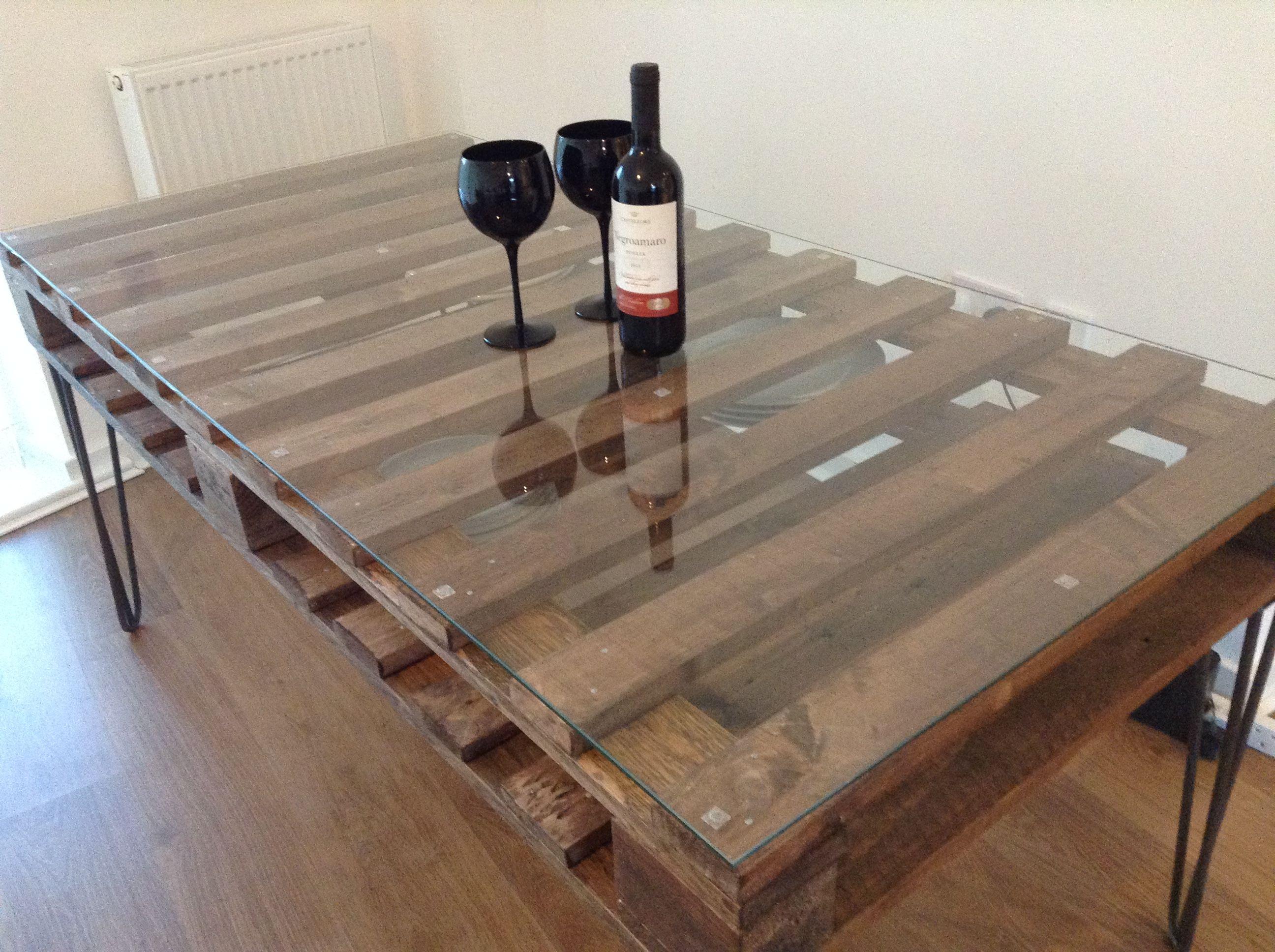 Pallet Dining Table Pallet Dining Table Diy Pallet Furniture