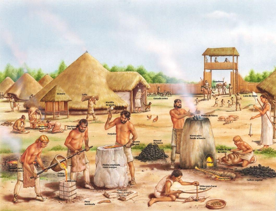 Edad Del Metal Buscar Con Google Edad De Los Metales Historia De Espana Prehistoria