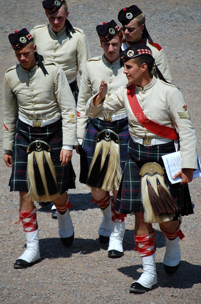 Regimental Kilts in Halifax Citadel, Nova Scotia