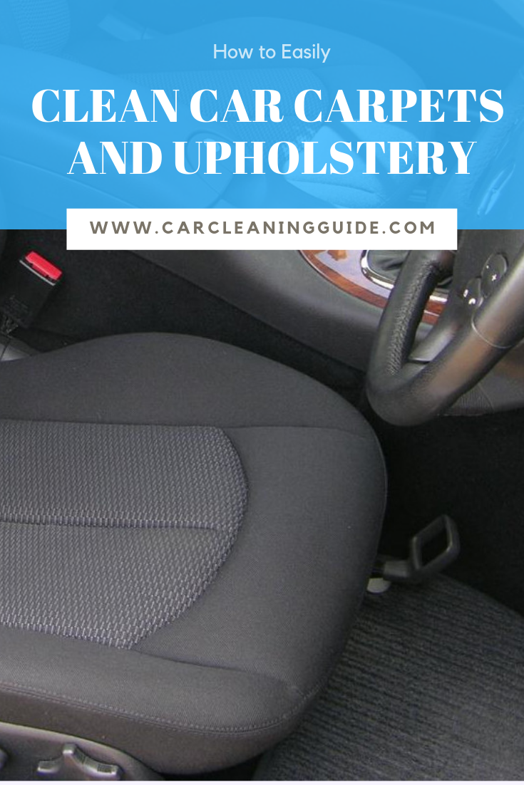 How to Clean Car Seats and Upholstery