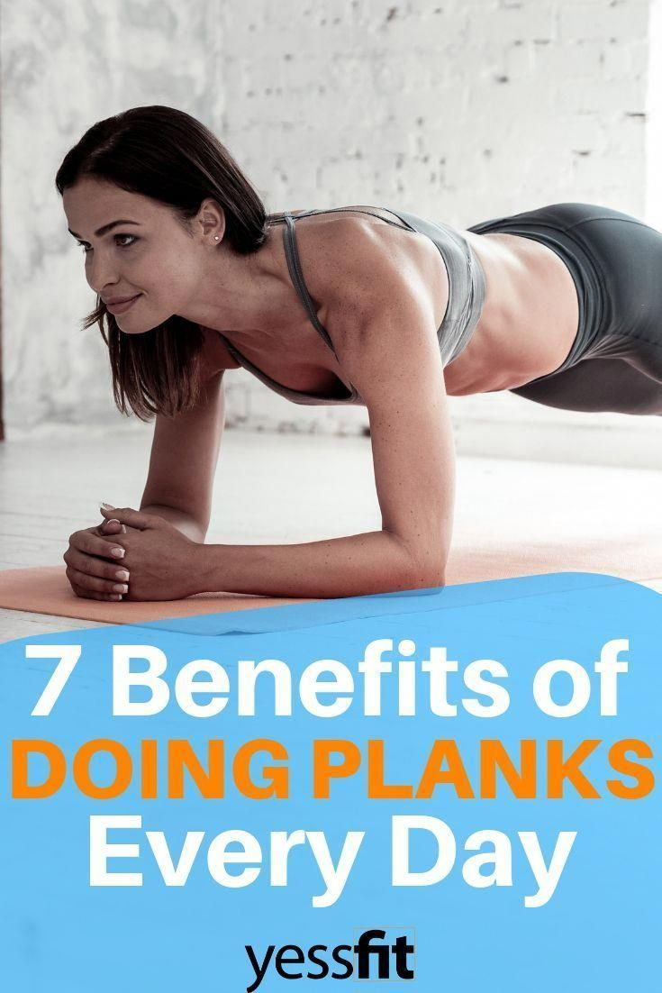 7 Benefits Of Doing Planks Every Day #Plank #Workout #Fitness #fitnesstipsformen