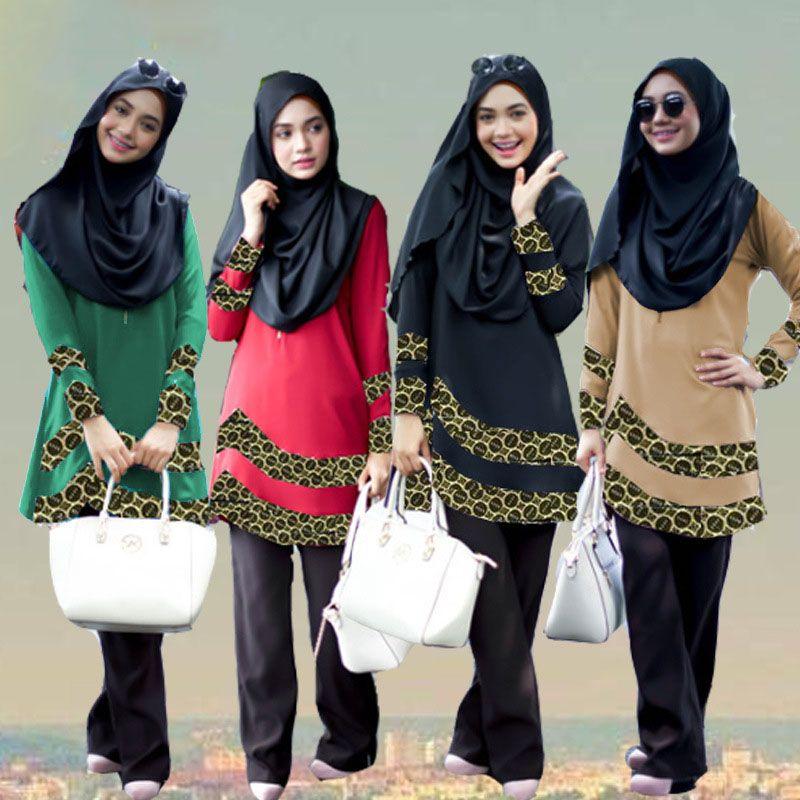 New design Muslim Dress Women Islamic Abaya Turkish hijab Clothing jilbab  and abayas Turkey Robe Musulmane f18050ca8918