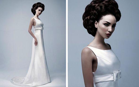 Wedding day Hair- Dramatic updo's inspiration 1 :  wedding hair inspiration up do upstyles wedding hair white 02 RitvaWestenius1