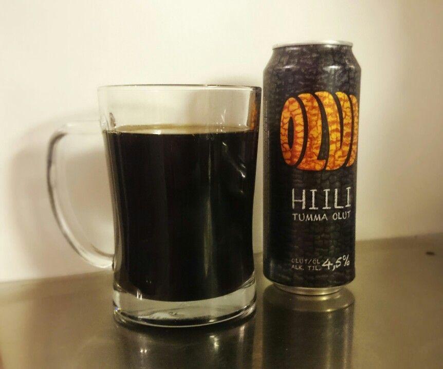 Olvi Hiili, 4,5%, tumma olut. Omaan makuun liian hapokas ollakseen tumma olut. Tuskin tulee ostettua toiste.
