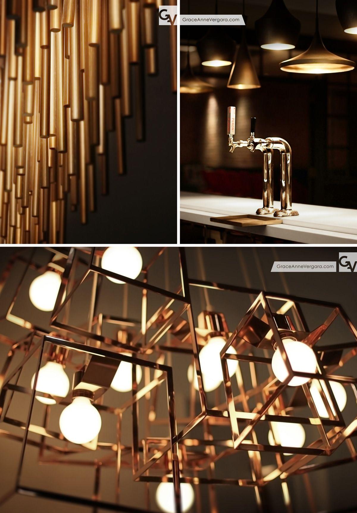 Details | Copper | Brass | Lighting | Tom Dixon | Iacoli & McAllister | Conrad Hotel | Hotel Conrad | TriBeCa