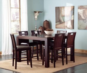 Prewitt 102948 Modern Dining Table : Coaster Furniture : Counter Height Dining Sets at comfyco.com furniture store