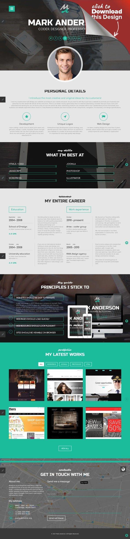 Designer Portfolio Responsive Joomla Template | Template