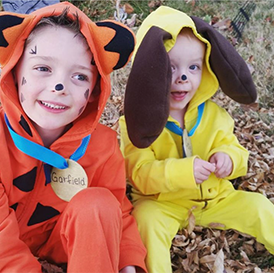 Garfield And Odie Diy Kids Costume Browse Simple No Sew Kids And Baby Diy Halloween Costume Diy Costumes Kids Garfield And Odie Halloween Costumes For Kids