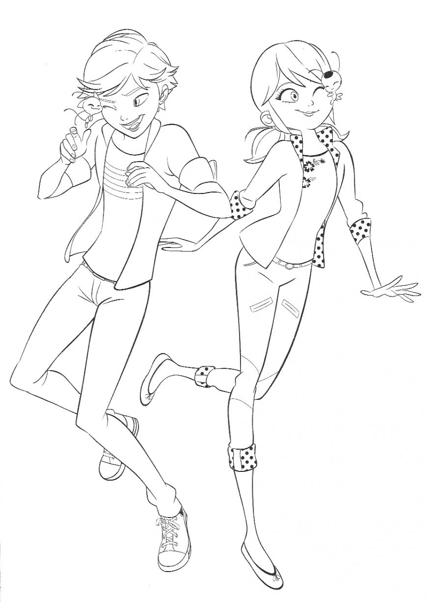 Miraculous Ladybug Marinette Coloring Pages Free In 2020 Ladybug Coloring Page Miraculous Ladybug Fan Art My Little Pony Coloring
