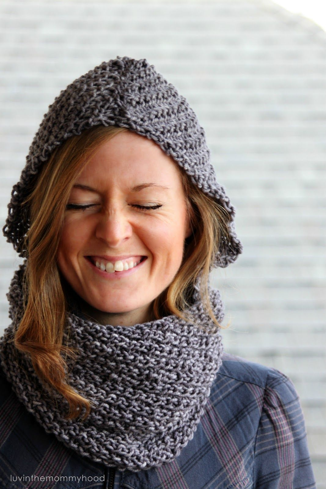 CAMILLE HOODED COWL | Hooded cowl, Patterns and Knitting patterns