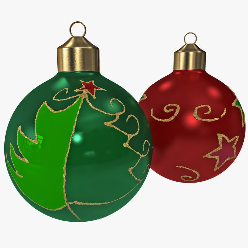 Christmas Ornament Balls Obj Christmas Ornaments Ornaments Christmas Bulbs