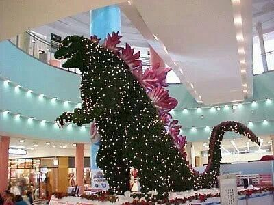 Godzilla Mall Decoration Animated Movies Funny Funny Pictures For Kids American Funny Videos