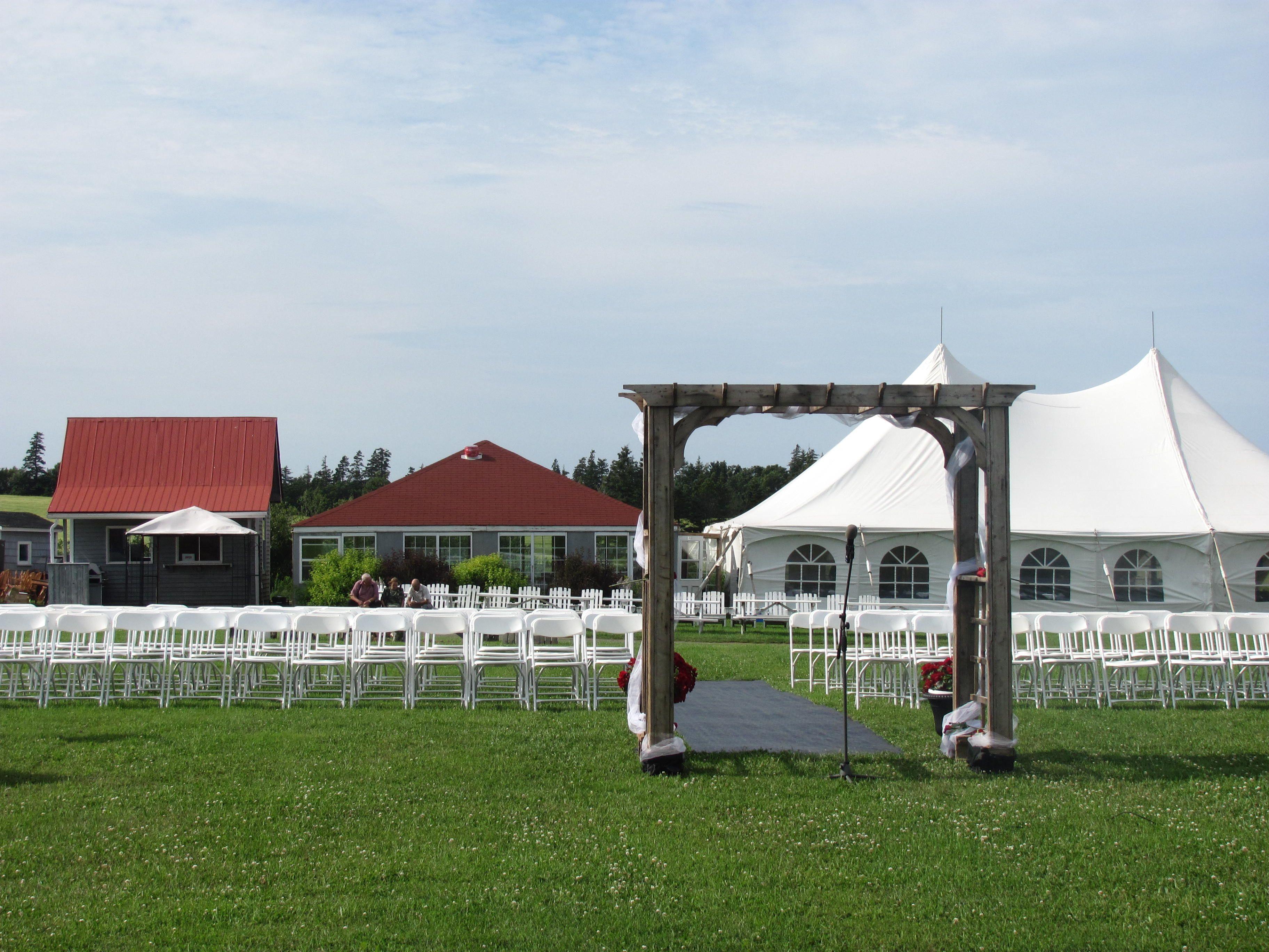 Tent Pavilion u0026 Ceremony area Stanley Bridge Resort ... & Tent Pavilion u0026 Ceremony area Stanley Bridge Resort PEI ...