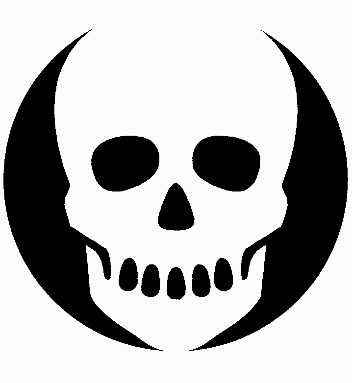 Pix For > Pumpkin Carving Skull Stencil | screen printing ...