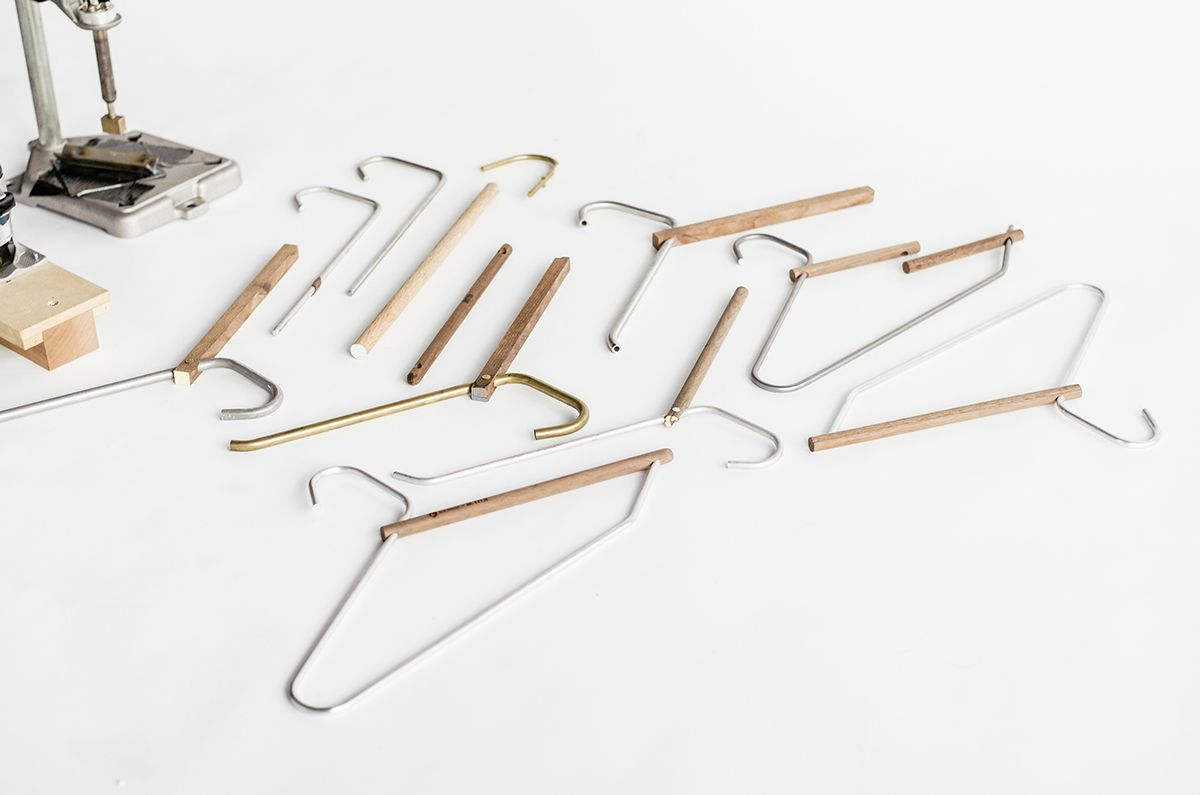 A Day In The Land Of Nobody Woodie Clothing Hanger By Ken