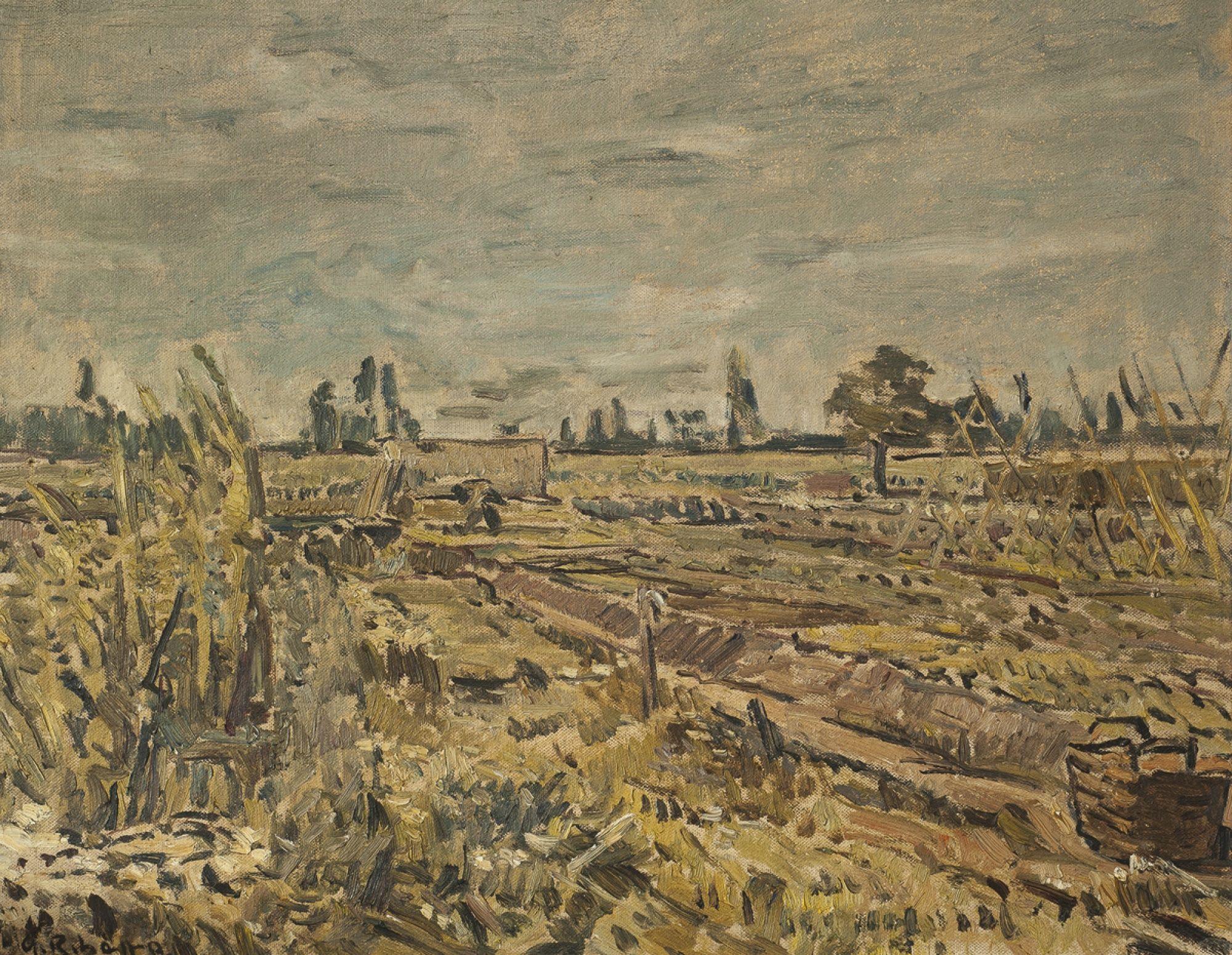 Alceu Ribeiro, óleo sobre tela 55 x 70