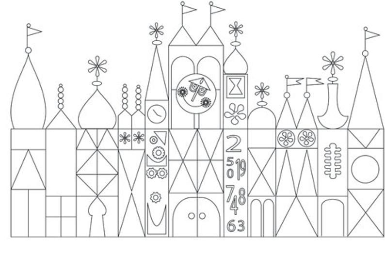28++ Its a small world coloring page free download