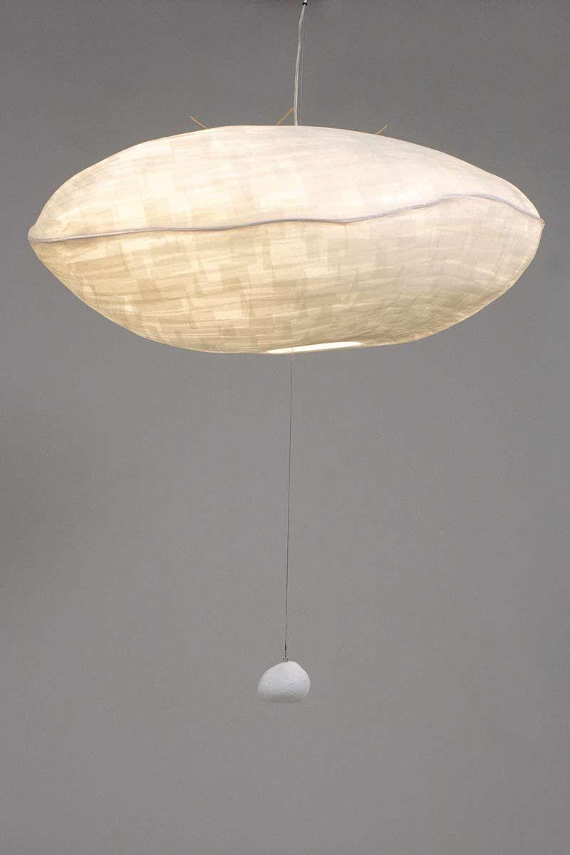 Lampe Aerienneen Papier Japonais Lumiere En Papier Luminaire