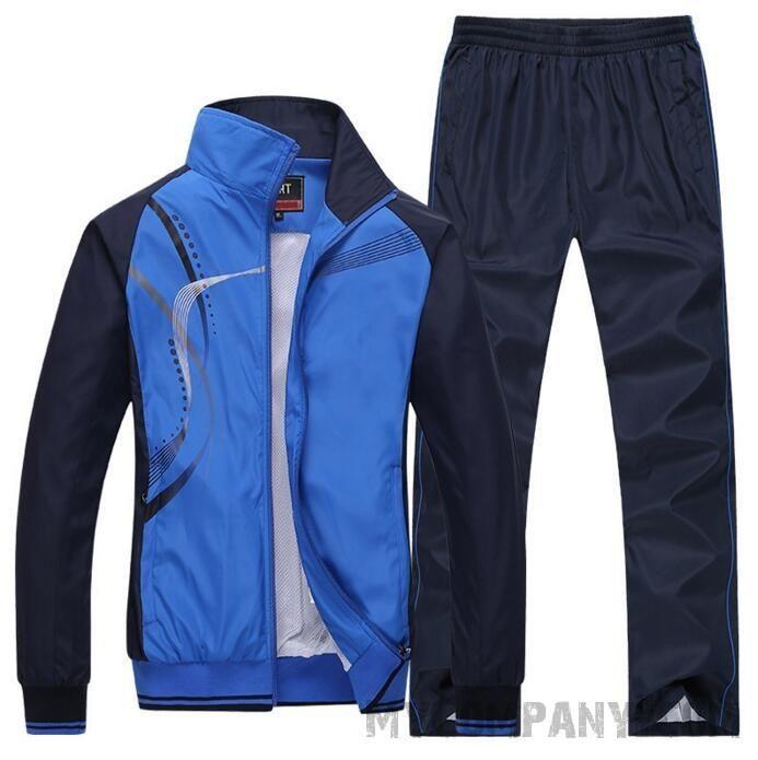 Men's Tracksuit Jacket + Bottoms #black #sexy #jogger #sport #pants #