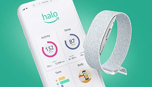 Introducing Amazon Halo – Health & wellness band and membership – Winter + Silver – Medium