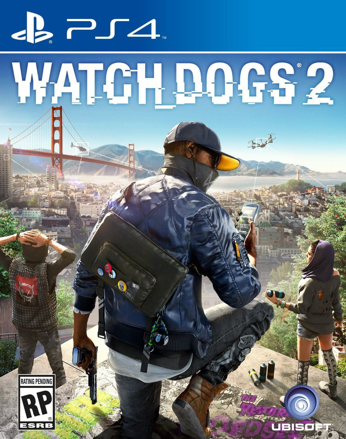 Watch Dogs 2 Pre Order Ps4 Physical Game Disc Us Interesting Pins