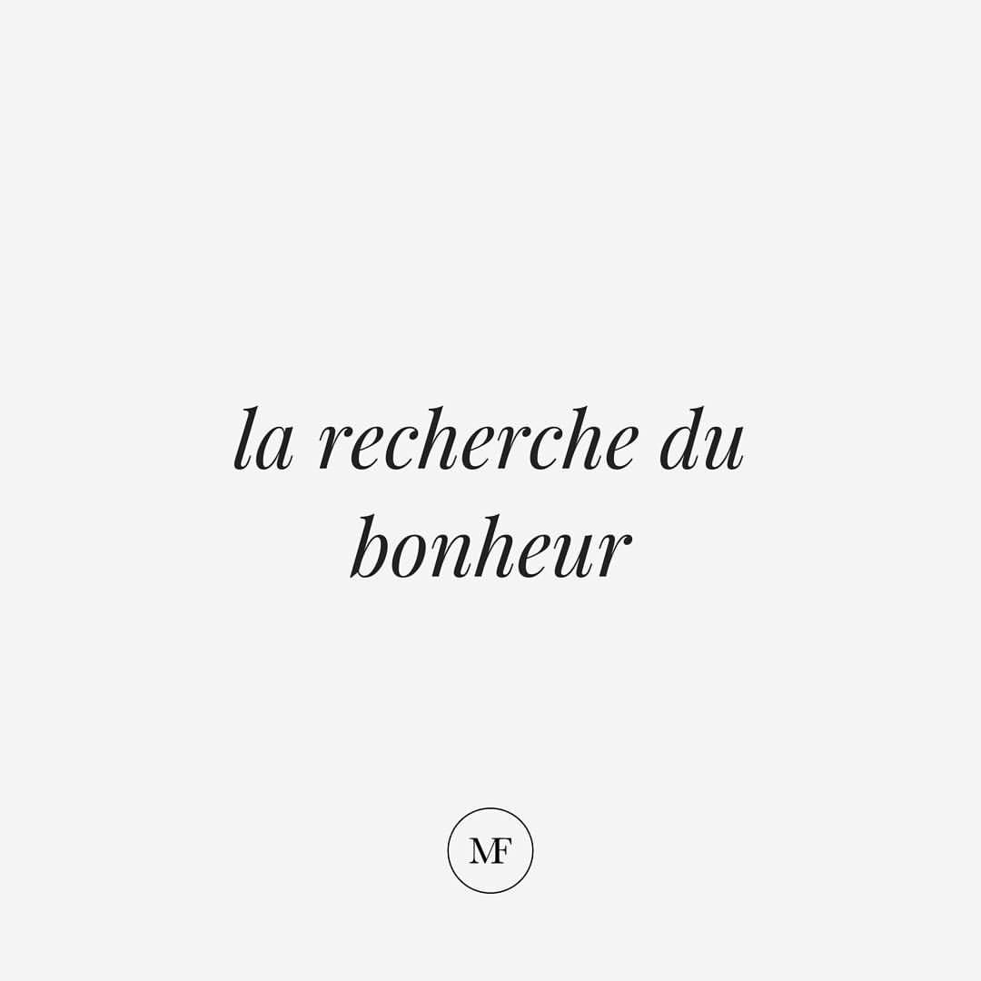 The pursuit of happiness 🏃🏻♀️  French quotes, Happy quotes