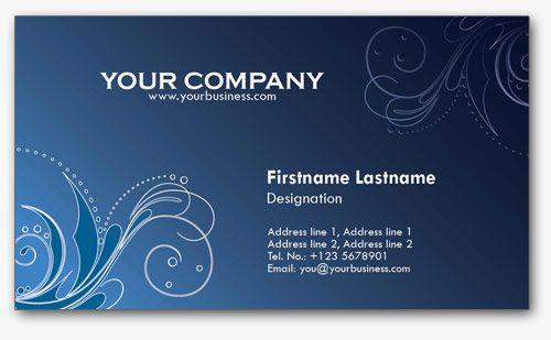4 Colorful Personal Business Card Templates | JOSE CASTRO | Pinterest