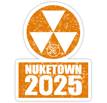 Call Of Duty Room Decor Call Of Duty Black Ops 2 Nuke Town 2025 Distressed Look By Call Of Duty Black Call Of Duty Video Game Bedroom