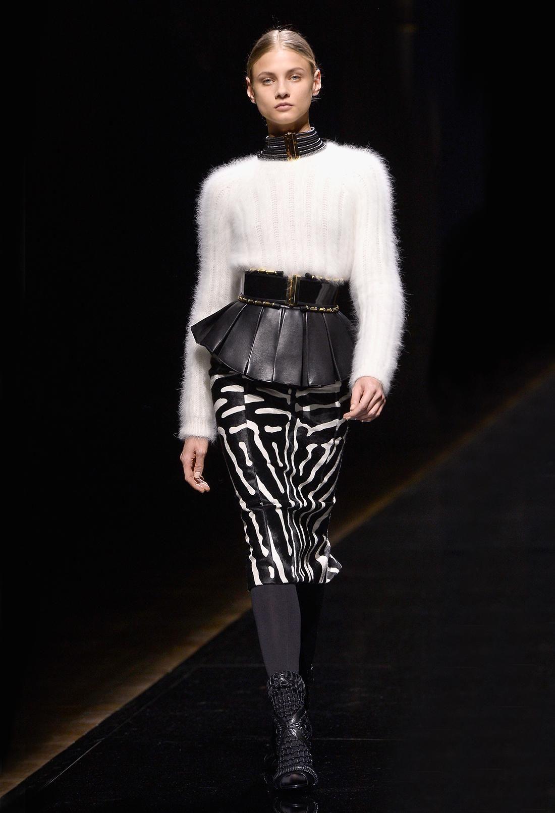 Rachel Zoe's Favorite Runway Looks: Paris Edition Definitely influenced by A McQueen