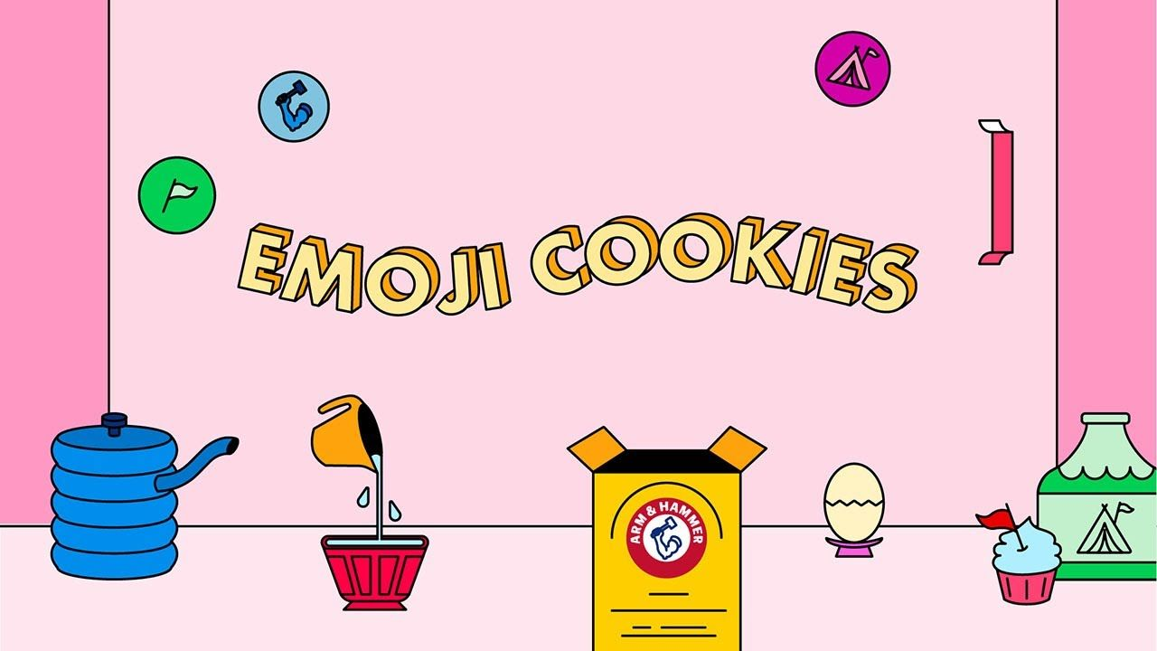 How To Easily Bake And Decorate Emoji Cookies With Your Kids Featuring Arm Hammer Baking Soda Ad In 2020 Arm And Hammer Baking Soda Mug Cake Pinata Cupcakes