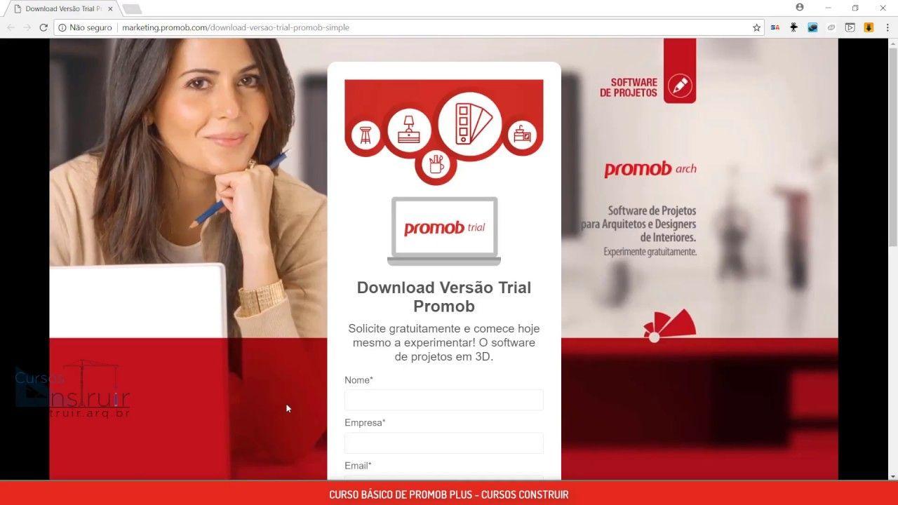 Promob Basico Aula 2 Download Da Versao Gratuita E Apresentacao