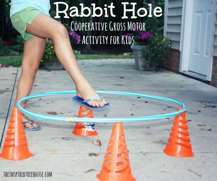 Group Games for Kids Rabbit Hole Gym games for kids