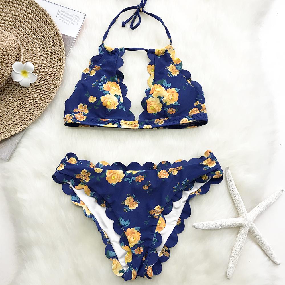 9f840f869cc Navy and Rose Floral Bikini