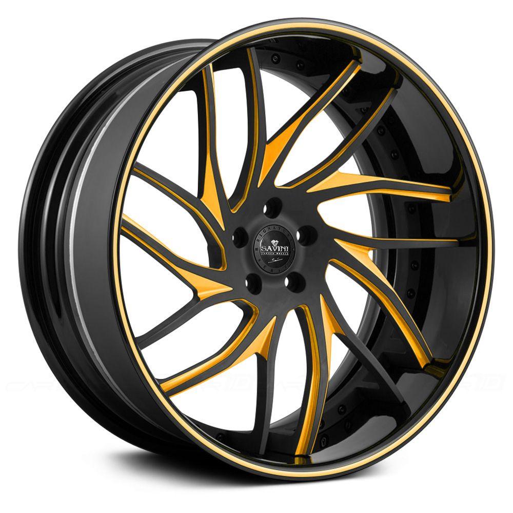 SAVINI® SV62 3PC Custom Finish in 2020 Custom wheels