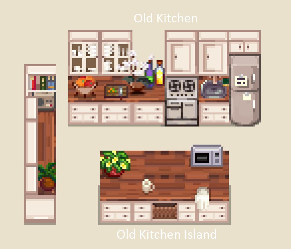 Mi 39 s kitchen at stardew valley nexus mods and community for Kitchen design simulator