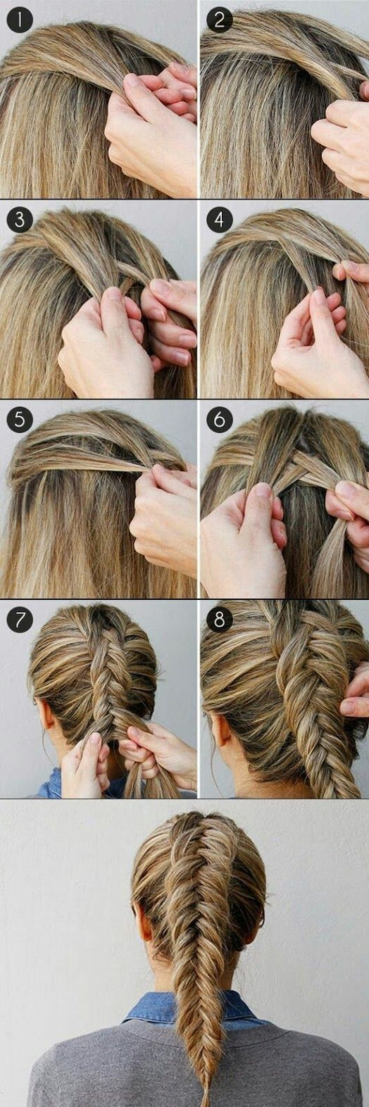 easy hairstyles to wear to the beach or pool this summer