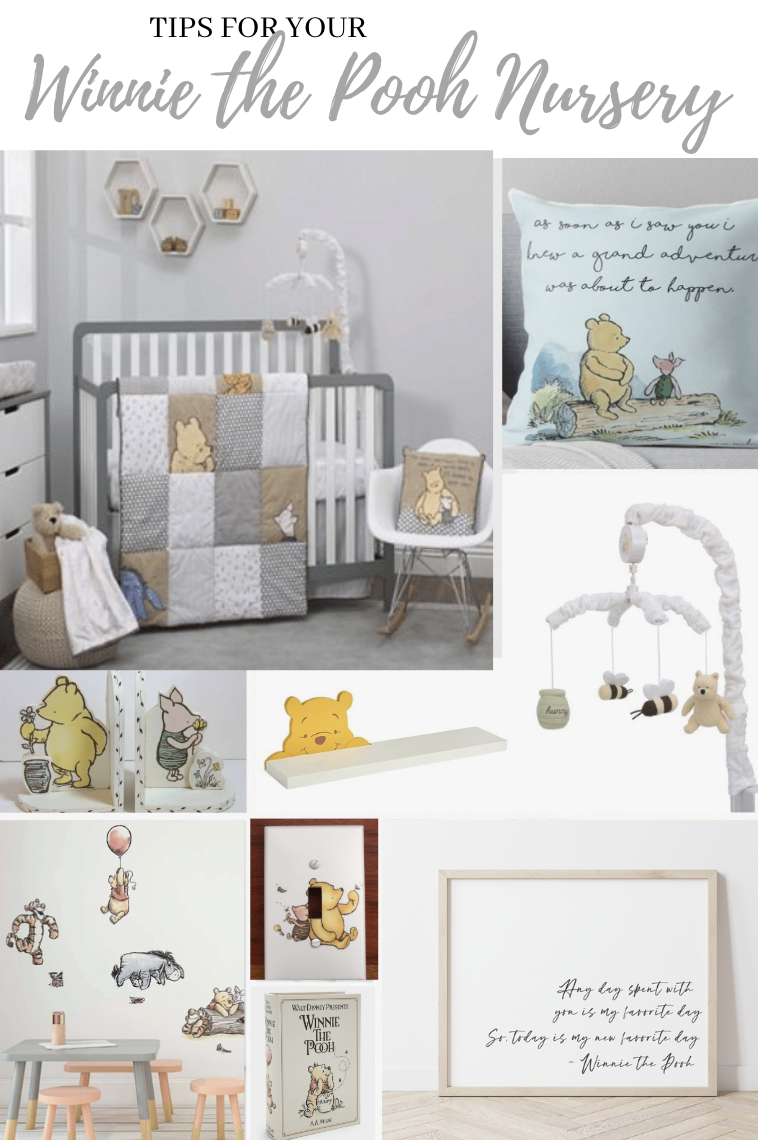 Winnie The Pooh Nursery Wall Art Quote Decor For Winnie The Pooh Themed Nursery Pooh Bear Wall Art Diy Nursery Instant Download In 2020 With Images Printable Kids Room Wall Art