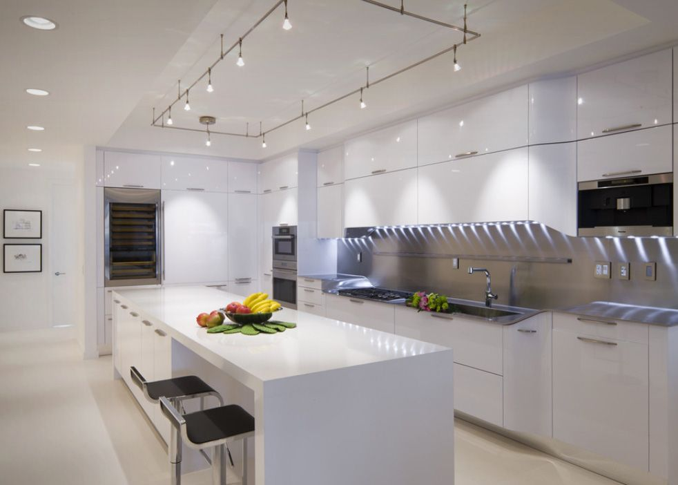 Kitchen Remodeling Track Lighting Options Ideas Rectangle Design