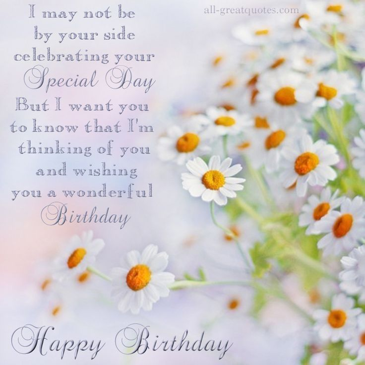Birthday cards share on facebook happy birthday wishes greetings i may not be by your side celebrating your special day but i want you to know that im thinking of you and wishing you a wonderful birthday publicscrutiny Image collections