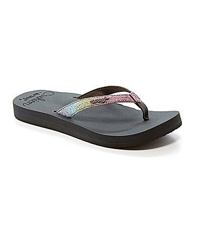 bad9088a0d1 Reef Star Cushion Luxe Ombre Flip Flop Sandals  Dillards