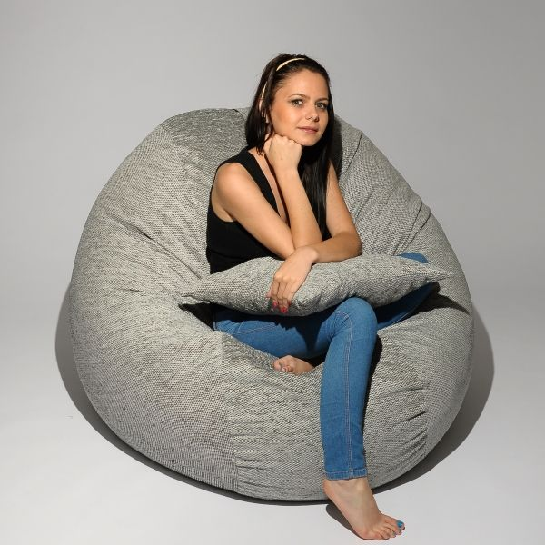 Awe Inspiring Set Fotoliu King Size Perna Decorativa Grizzly Bag Machost Co Dining Chair Design Ideas Machostcouk