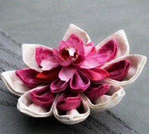Fabric Origami Lotus Fabric Origami Fabric Flowers Origami