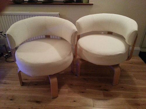 Wish They Stil Made These Ikea Fridene Wooden Circular Swivel Chairs