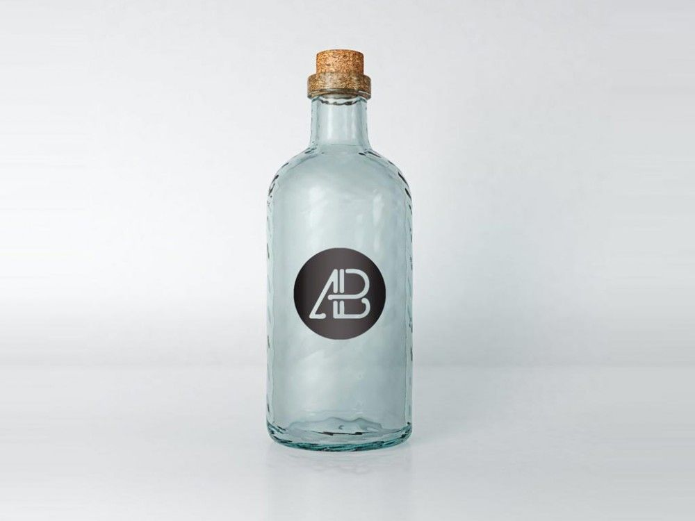 Vintage Glass Mockup Mockupworld Bottle Mockup Free Mockup Mockup Design