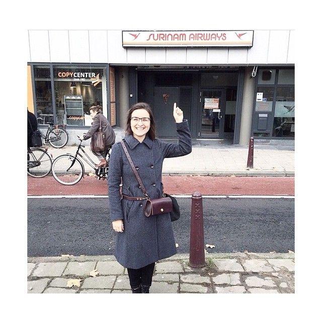 Бодрое утро всем!  Regram @sasuriname #nim_design #nim_girls #nim_bag #amsterdam