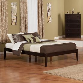 Atlantic Furniture Concord Espresso Queen Platform Bed Ar8041001