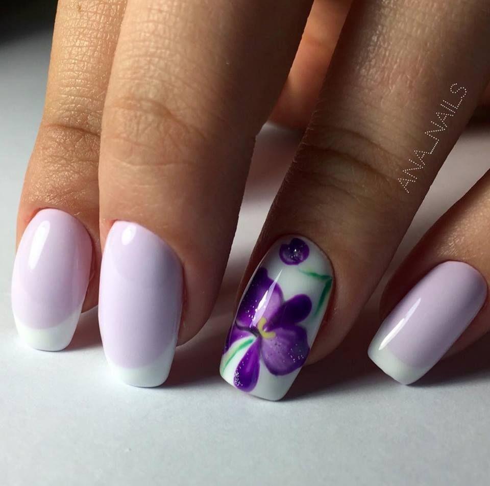 8 Purple Nail Art Ideas | Purple nail art, Purple nails ...