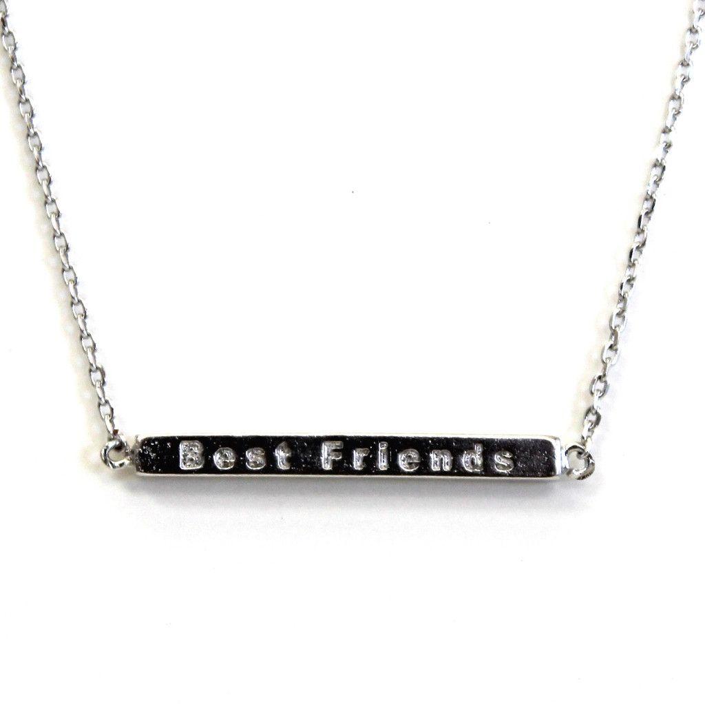 Best Friend Stick Necklace