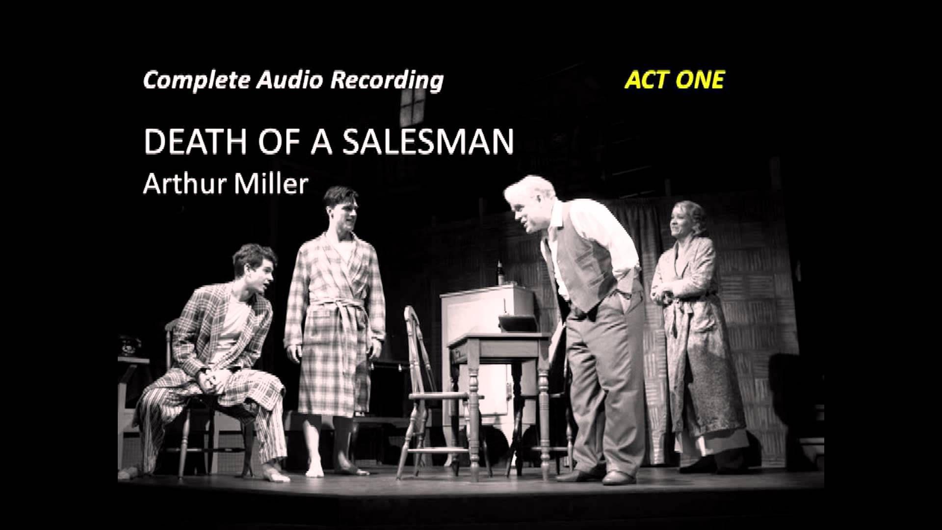 death of a salesman outline
