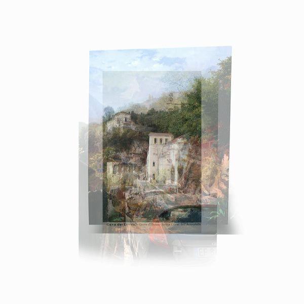 Galerie Piece Unique - Grotte di Bonea-Antica Chiesa dell Avvocatella  1838-1931-2012   cm 30 x 30 - Digital print on Dibond, Edition of 7  MAS 043